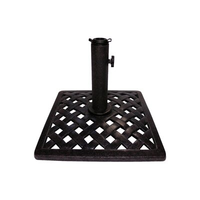 La Jolla Cast Iron Free Standing Umbrella Base