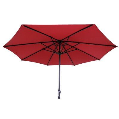 9 Market Umbrella Color: Red