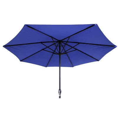 9 Market Umbrella Color: Blue