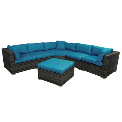 Horrell 6 Piece Sectional Set with Cushions