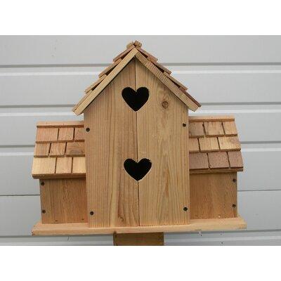 18 in x 17 in x 11 in Birdhouse 6ht-10