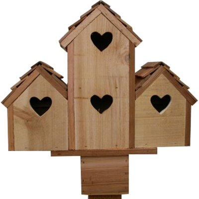 16 in x 17 in x 6 in Purple Martin House 4ht-8