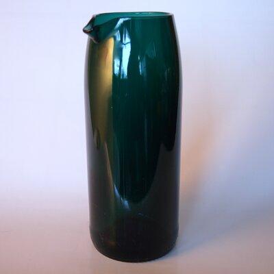 Flat Bottom Wine Carafe Color: Teal