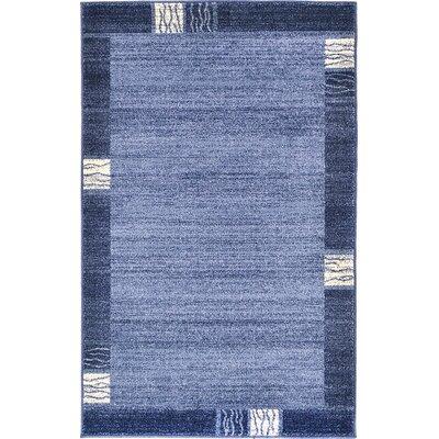 Del Mar Light Blue Area Rug Rug Size: 5' x 8' 3121680