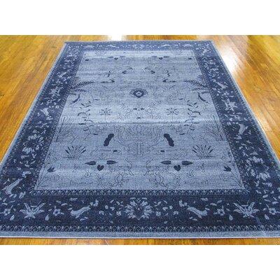Shailene Blue Area Rug Rug Size: Rectangle 9 x 12