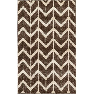 Duluth Brown Area Rug Rug Size: 5' x 8'