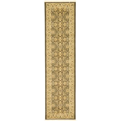 Oberlin Brown Area Rug Rug Size: Runner 27 x 10