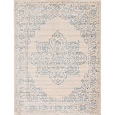 Hayley Beige Area Rug Rug Size: Square 8'