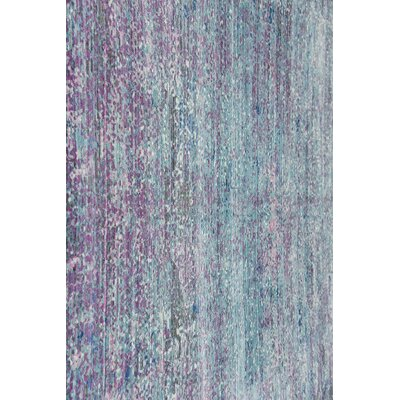 Brixton Green/Purple Area Rug Rug Size: Rectangle 9 x 12