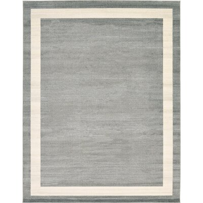 Mischa Gray Area Rug Rug Size: Square 8