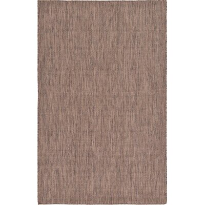 Brown Outdoor Area Rug Rug Size: 8' x 11'4