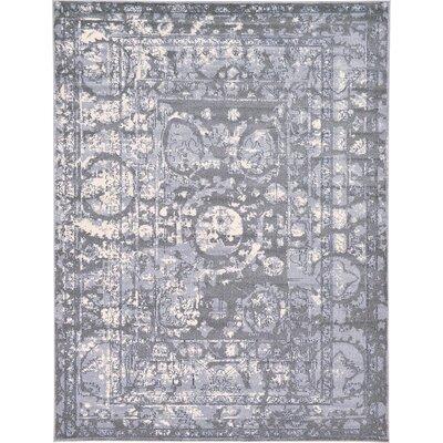 Kelaa Gray Area Rug Rug Size: 9 x 12