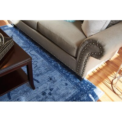 Attleborough Blue Area Rug Rug Size: 106 x 165