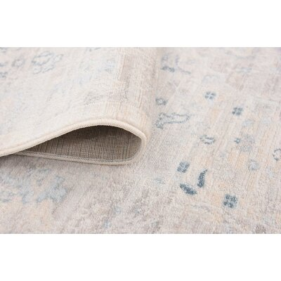 Mellal Dark Gray Area Rug