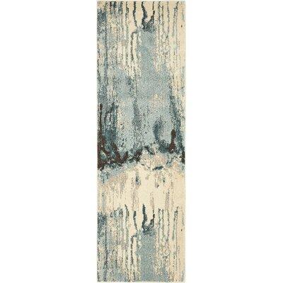 Colella Light Beige/Blue Area Rug