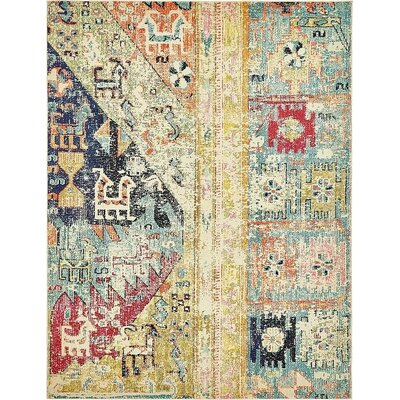 Boxborough  Gold  Area Rug Rug Size: 8 x 10