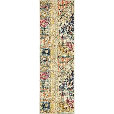 Boxborough  Gold  Area Rug Rug Size: Runner 2 x 67