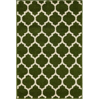 Millvale  Dark Green Indoor Area Rug