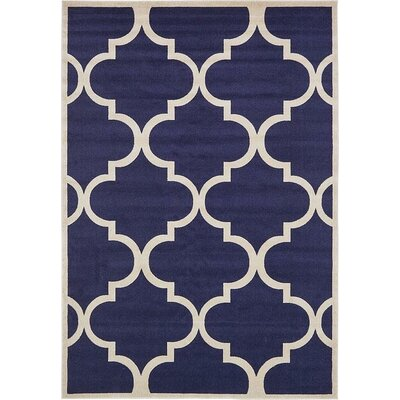 Millvale Navy Blue Area Rug Rug Size: 8 x 114
