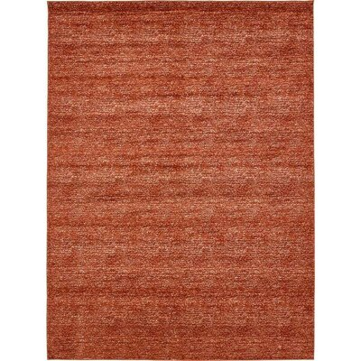 St Philips Marsh Terracotta Area Rug Rug Size: 10 x 13