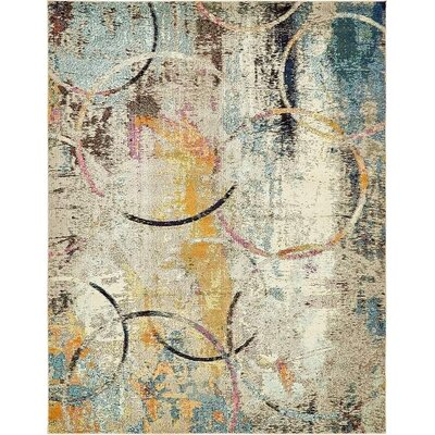 Chenango Rectangle Beige Area Rug