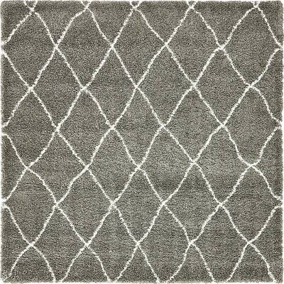 Cynthiana   Gray Area Rug Rug Size: Square 8