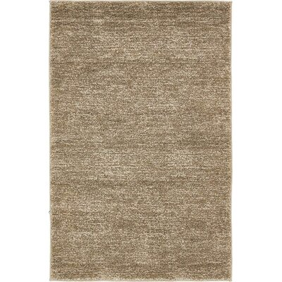 St Philips Marsh Light Brown Area Rug Rug Size: 4 x 6
