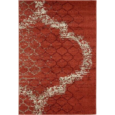 Millvale  Terracotta Indoor Area Rug