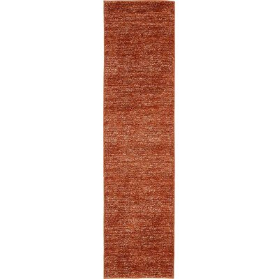 St Philips Marsh Terracotta Area Rug Rug Size: Runner 27 x 10
