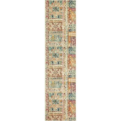 Boxborough Beige Area Rug Rug Size: Runner 2'7