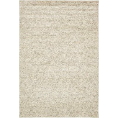 St Philips Marsh  Cream Area Rug Rug Size: 7 x 10