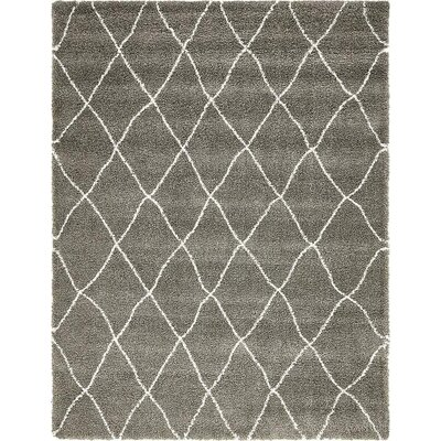 Cynthiana   Gray Area Rug Rug Size: Rectangle 9 x 12