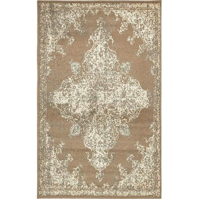 Arika  Brown Area Rug