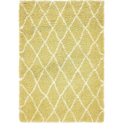 Cynthiana Yellow Area Rug Rug Size: Rectangle 2 7 x 6