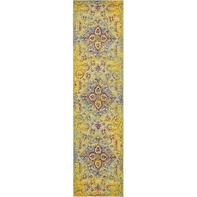 Glenn Machine Woven Area Rug Rug Size: Runner 27 x 10