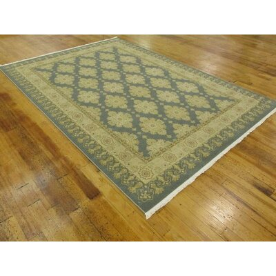 Jamar Blue Area Rug Rug Size: Rectangle 7 x 10