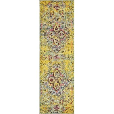 Glenn Machine Woven Area Rug Rug Size: Runner 2 x 67