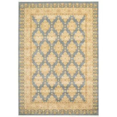 Oberlin Blue Area Rug Rug Size: 7 x 10