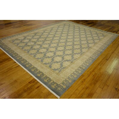 Britley Blue Area Rug Rug Size: Rectangle 122 x 16