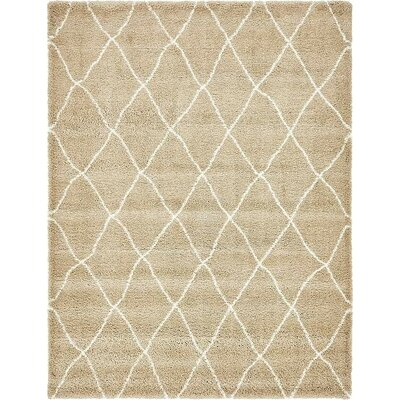 Cynthiana Taupe Area Rug Rug Size: 9 x 12
