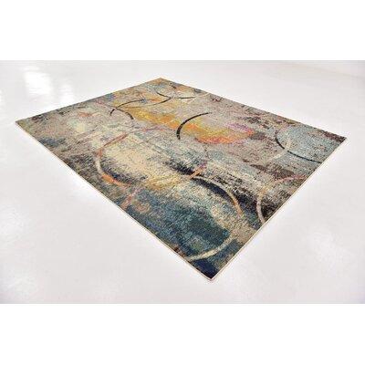 Chenango Beige/Yellow Area Rug Rug Size: Rectangle 10 x 8