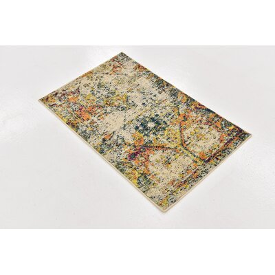 Gloucester Southwestern Beige Area Rug Rug Size: Rectangle 2 x 3