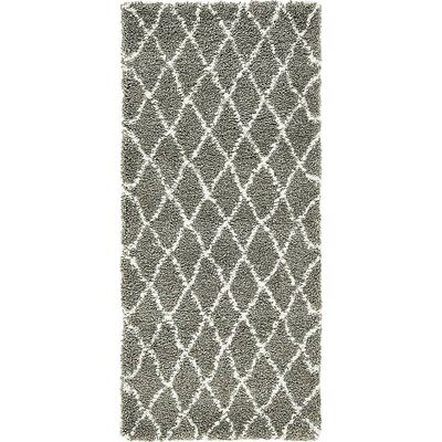 Cynthiana   Gray Area Rug Rug Size: Rectangle 4 x 6