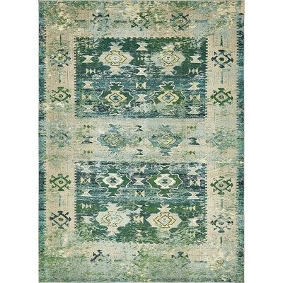 Gloucester Green Area Rug Rug Size: 9 x 12