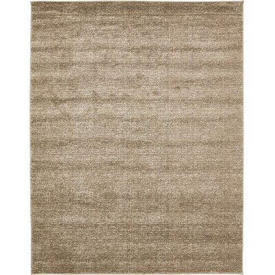 St Philips Marsh Light Brown Area Rug Rug Size: 8 x 10