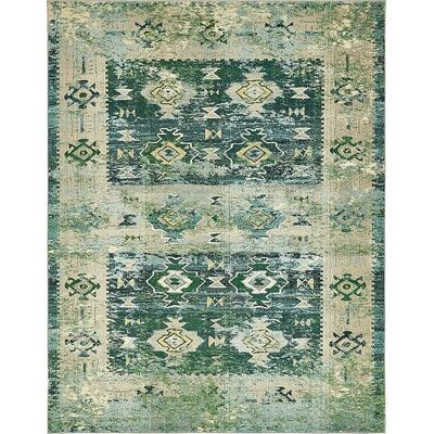 Gloucester Green Area Rug Rug Size: 8 x 10