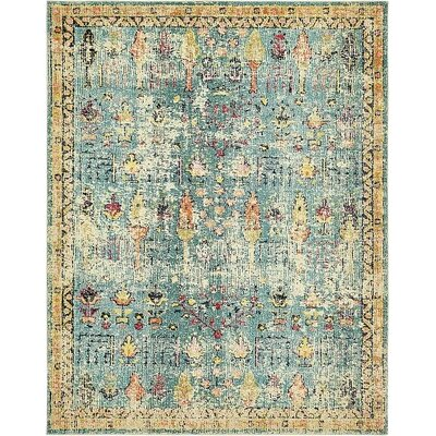 Gloucester Blue Area Rug Rug Size: Rectangle 8 x 10
