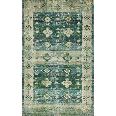Gloucester Green Area Rug Rug Size: Rectangle 106 x 16
