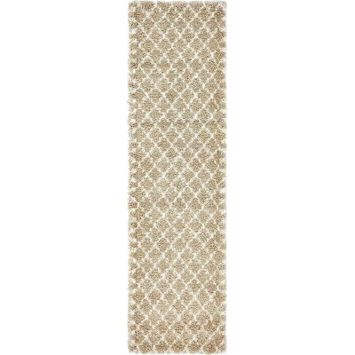 Cynthiana Taupe Area Rug Rug Size: Runner 27 x 6