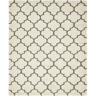 Cynthiana Pure Ivory Area Rug Rug Size: Rectangle 8 x 10